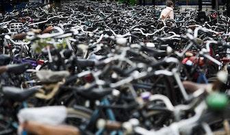 Gemeente Utrecht over deelfietsen: 'Geen herhaling van Amsterdamse toestanden'