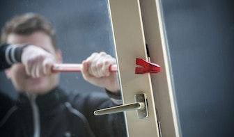 Deurbelcamera filmt inbreker op de Voorstraat in Utrecht