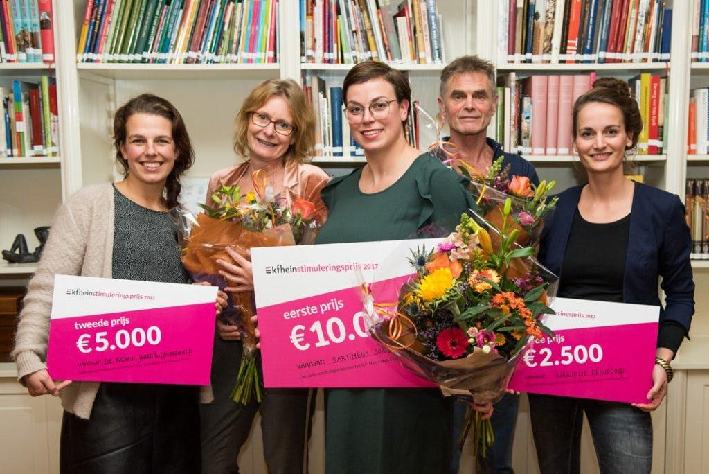 Utrechtse organisaties in de prijzen bij K.F. Hein Stimuleringsprijs