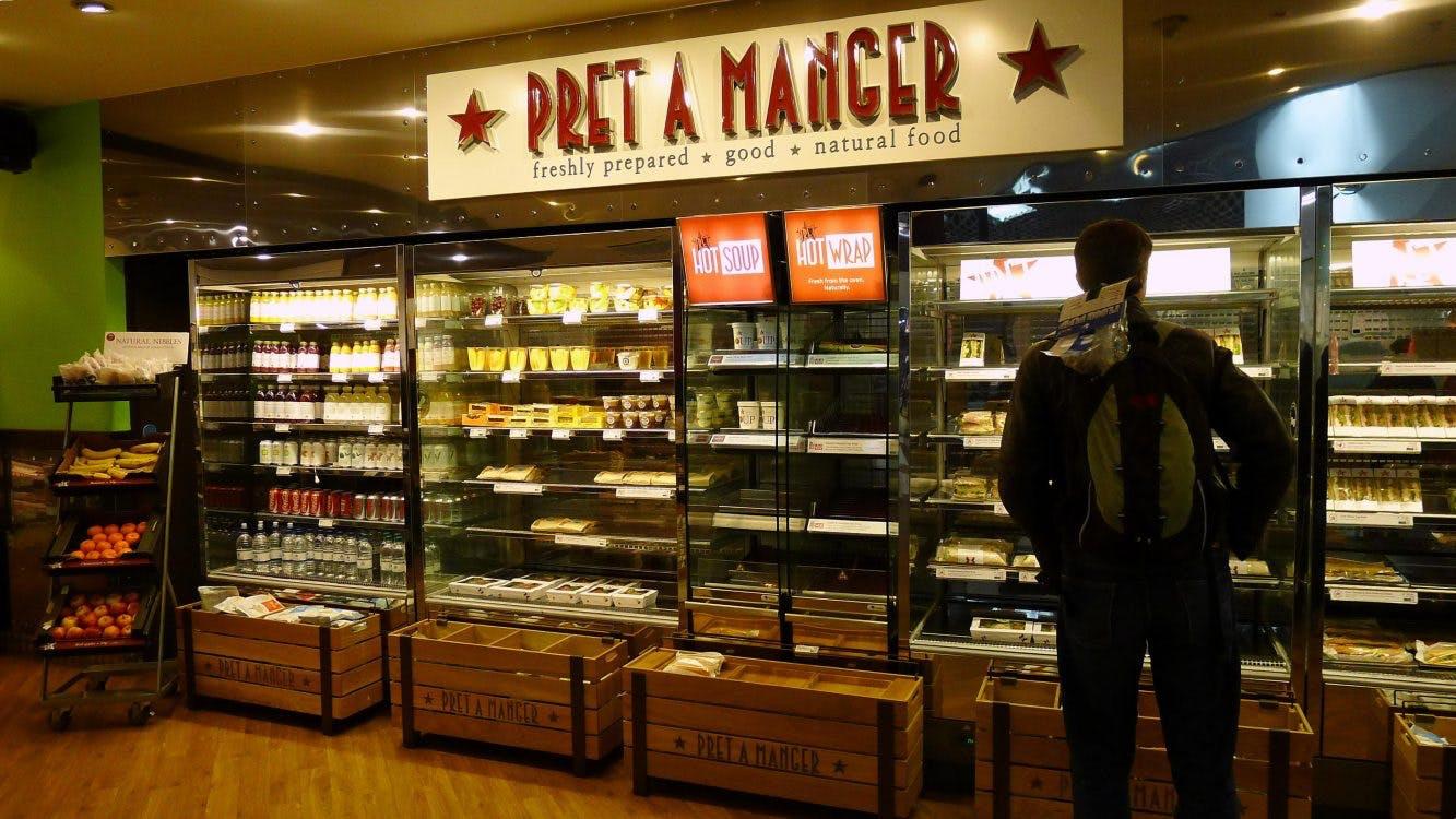 Eerste Pret A Manger van Nederland in Utrecht