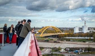 Zigzag-fietspad bij Utrechtse Gele Brug maakt plaats voor minder steil exemplaar
