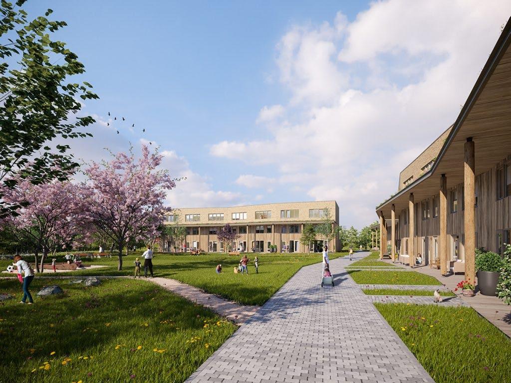 Plan voor woningen op voormalig sportveld Van Lieflandlaan