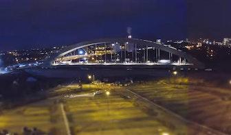Timelapse verplaatsen Spoorbrug