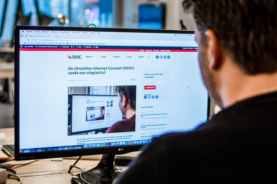 De Utrechtse Internet Courant (DUIC) zoekt een stagiair(e)