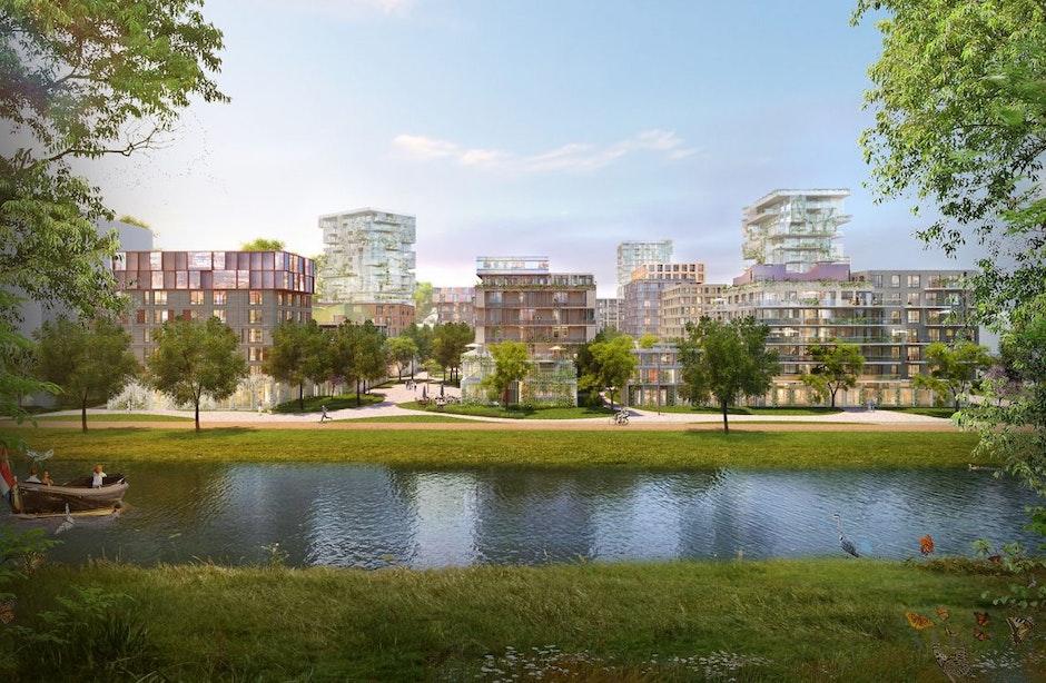 Projectontwikkelaars kopen ruim vier hectare grond in stadswijk Merwede: ruimte voor 1000 woningen