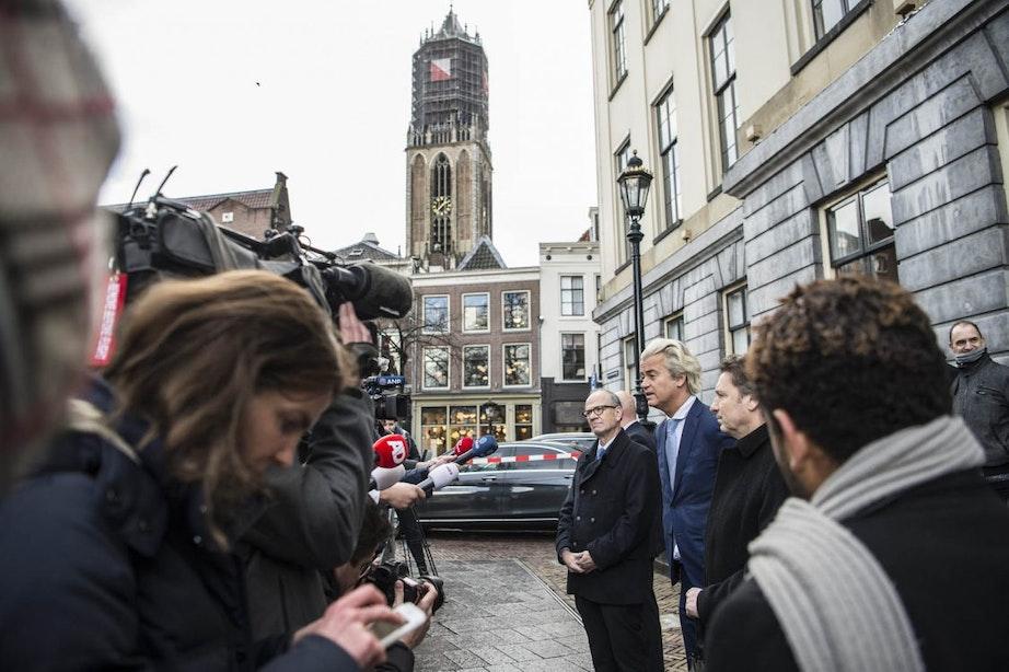 Wilders reageert op uitspraak PVV-lijsttrekker in Utrecht: 'Hij had het beter niet kunnen zeggen'