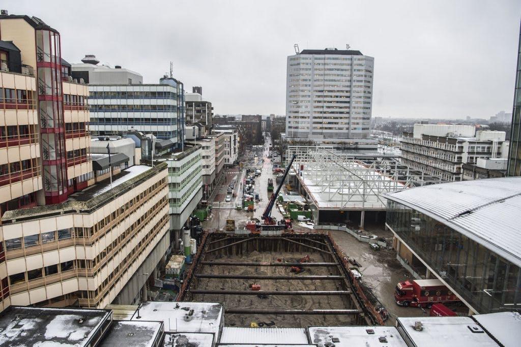 Busstation Centrumzijde in december van dit jaar weer in gebruik genomen