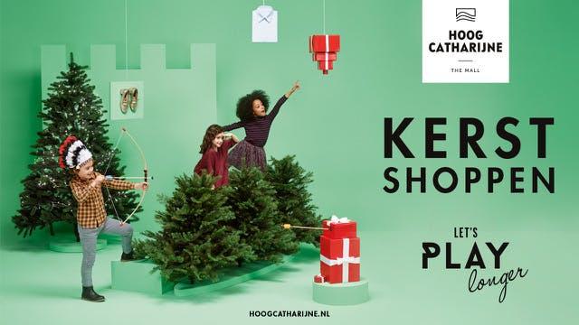 Kerstshoppen in Hoog Catharijne