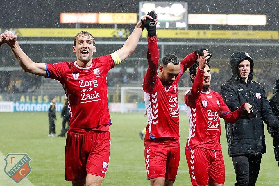 FC Utrecht naar vijfde plaats na zege bij VVV-Venlo