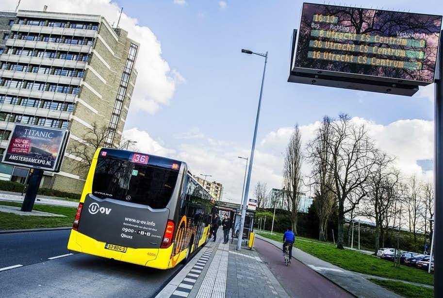 U-OV introduceert nieuwe dienstregeling en buslijnen