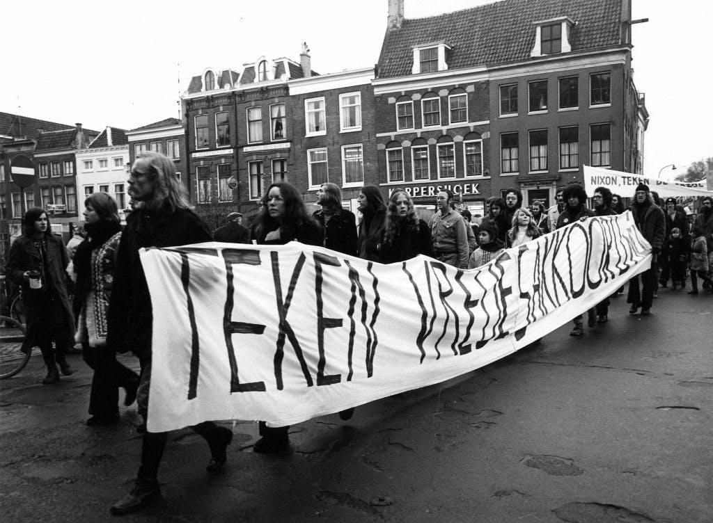 Hoe een Utrechtse student de confrontatie zocht: 'Spijt heb ik nooit gehad'