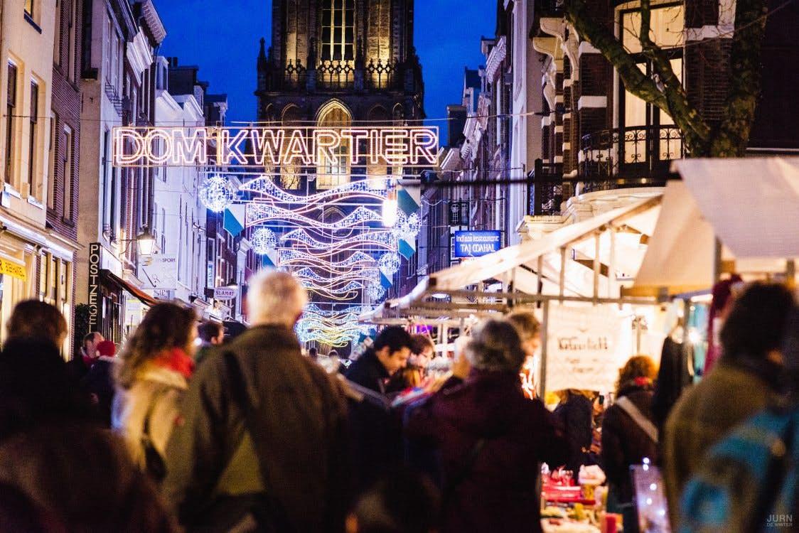 Volgend Weekend Grote Kerstmarkt In De Binnenstad Van Utrecht De