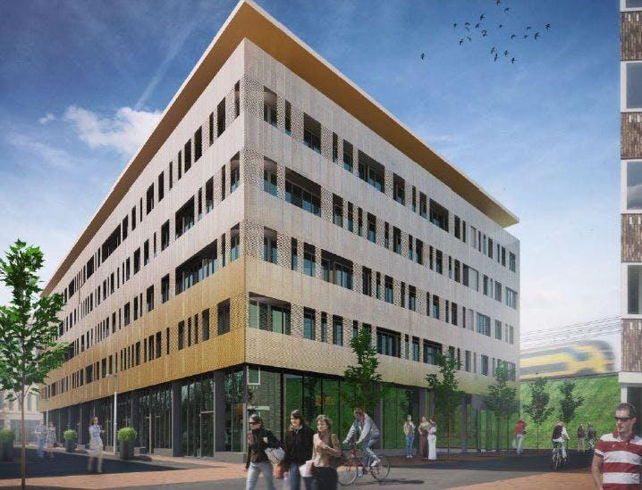Er komen 250 studio's voor studenten in Leidsche Rijn Centrum