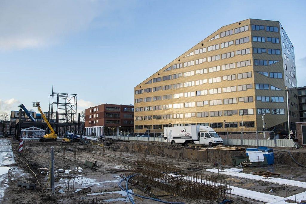 Bouw van 232 studentenwoningen in Rotsoord van start