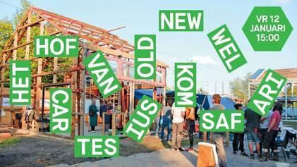 Duurzaam bouwproject Hof van Cartesius wordt in januari feestelijk geopend