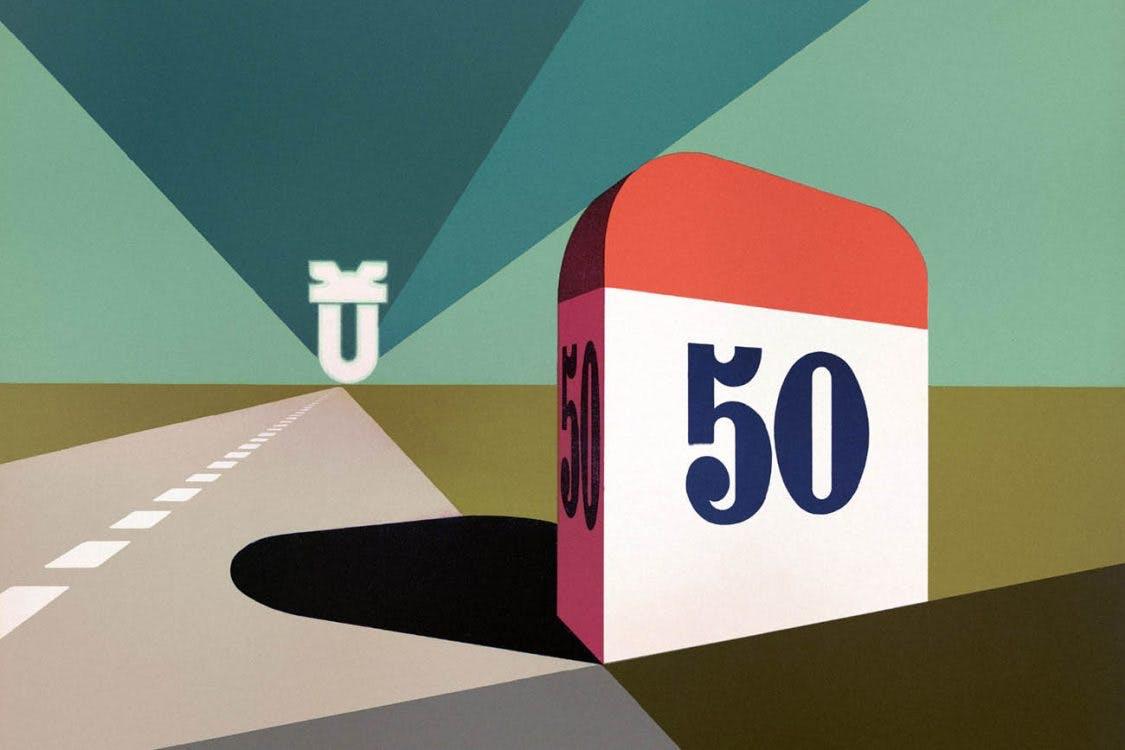 Utrechtse Affiches: Een gouden jubileum bij de Jaarbeurs