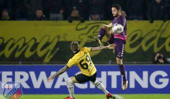 FC Utrecht eindigt 2017 in mineur met nederlaag bij NAC Breda