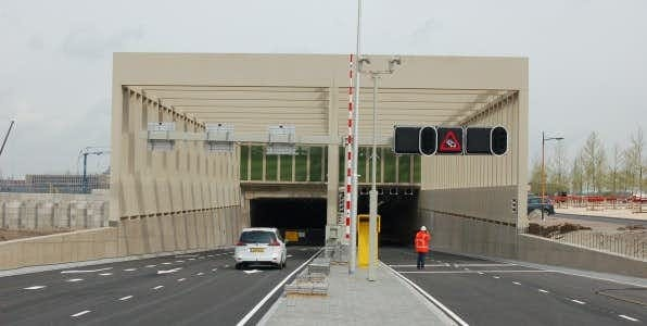 Stadsbaantunnel vanaf vandaag ruim twee weken afgesloten