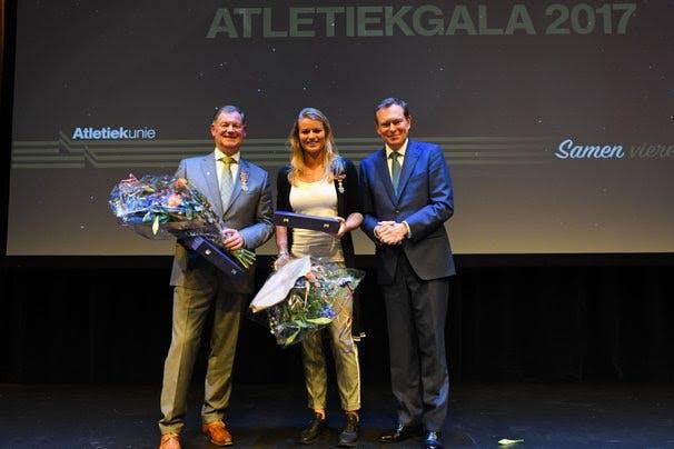 Dafne Schippers krijgt Koninklijke onderscheiding tijdens Atletiekgala