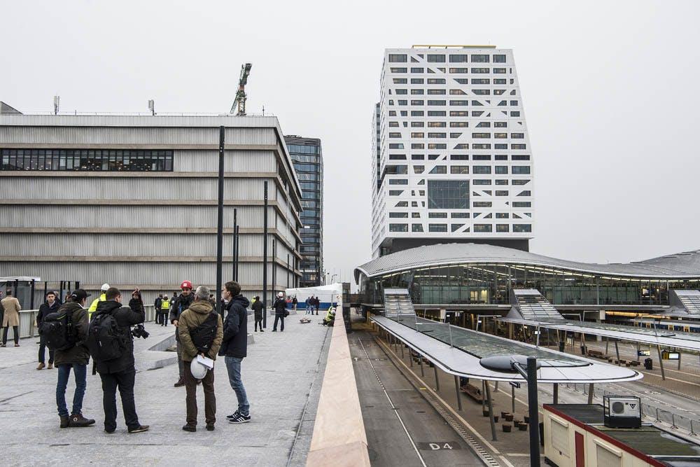 Belangrijke looproute tussen Utrecht Centraal en Moreelsebrug open