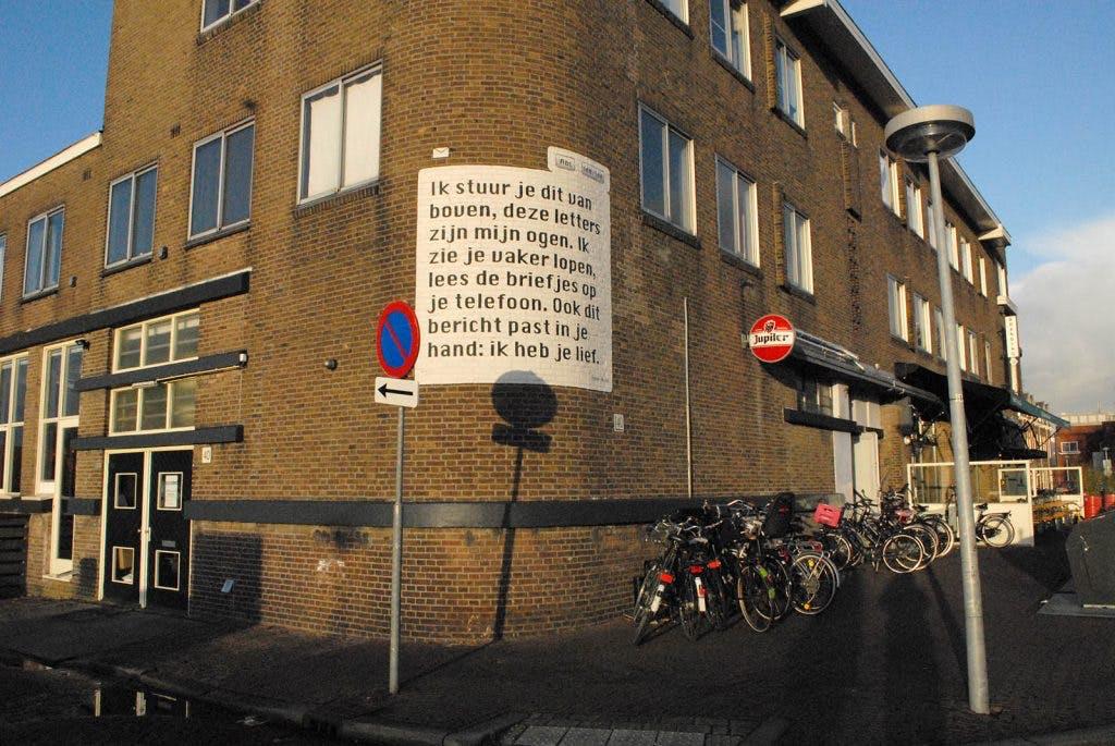 Utrechts initiatief verzamelt 1729 gedichten in de openbare ruimte