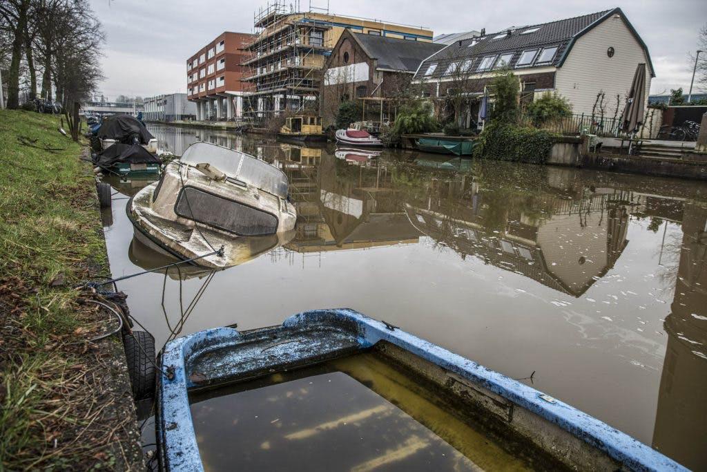 Foto's: Vergane glorie langs de Vaartsche Rijn