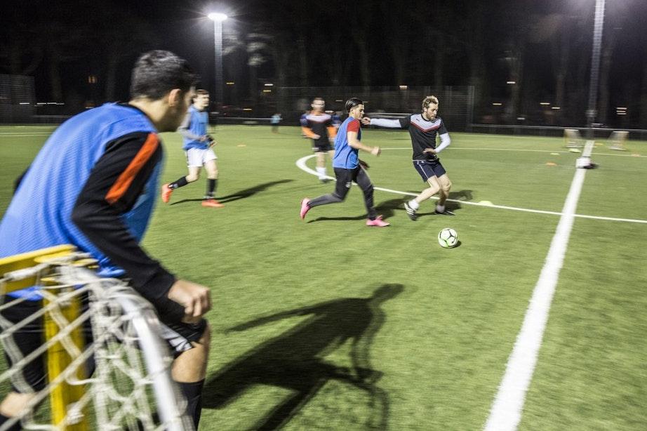 Voetballen op jouw moment, train direct mee met Kicks