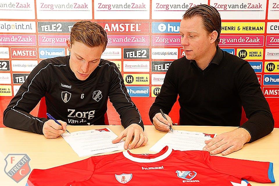 Sterkhouder Strieder verlengt contract met FC Utrecht