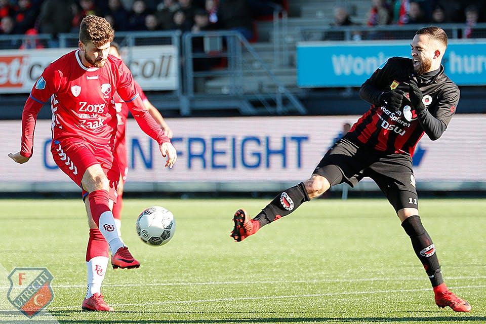 FC Utrecht speelt ook bij Excelsior gelijk