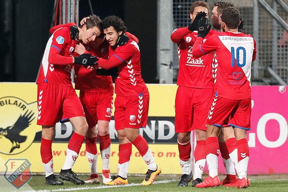 Late treffer Görtler helpt FC Utrecht langs Sparta