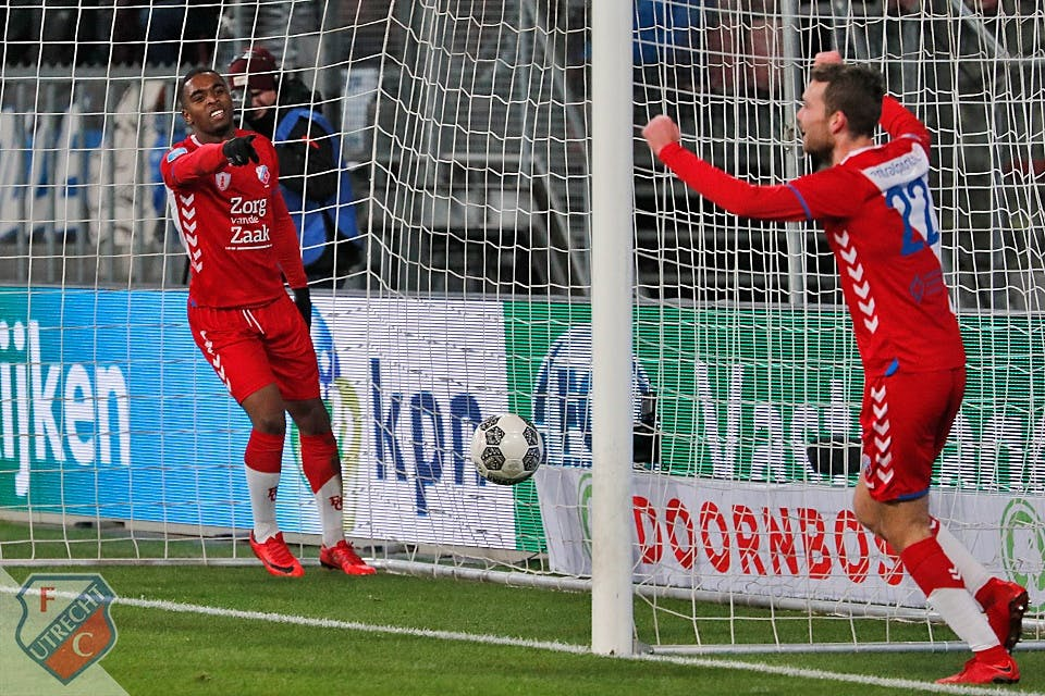 Jean-Paul de Jong na zege op PEC Zwolle op recordjacht met FC Utrecht