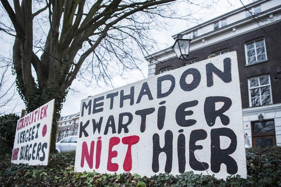 Utrechter veroordeeld voor opruiing methadonverstrekking op de Wittevrouwenkade