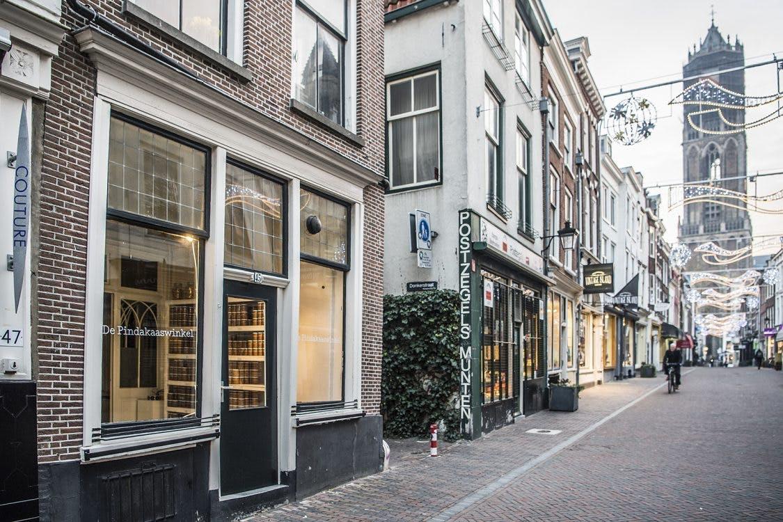 Deze week opent de Pindakaaswinkel in het centrum van Utrecht