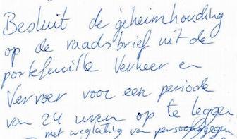 Geheim rapport Uithoflijn alsnog openbaar na handgeschreven oproep gemeenteraad Utrecht