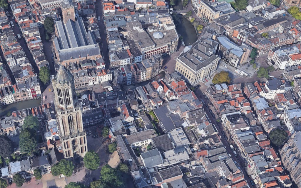 Utrecht nu ook in 3D te bekijken op Google Maps