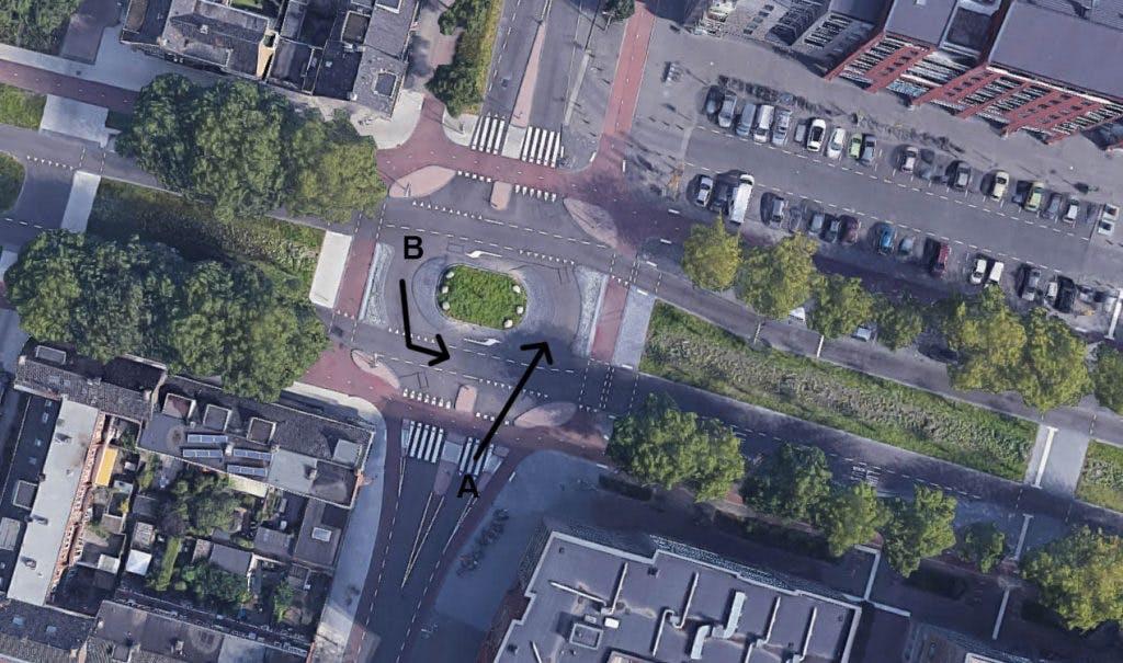 Voorrangsplein 't Goylaan in Utrecht: Wie heeft hier eigenlijk voorrang?