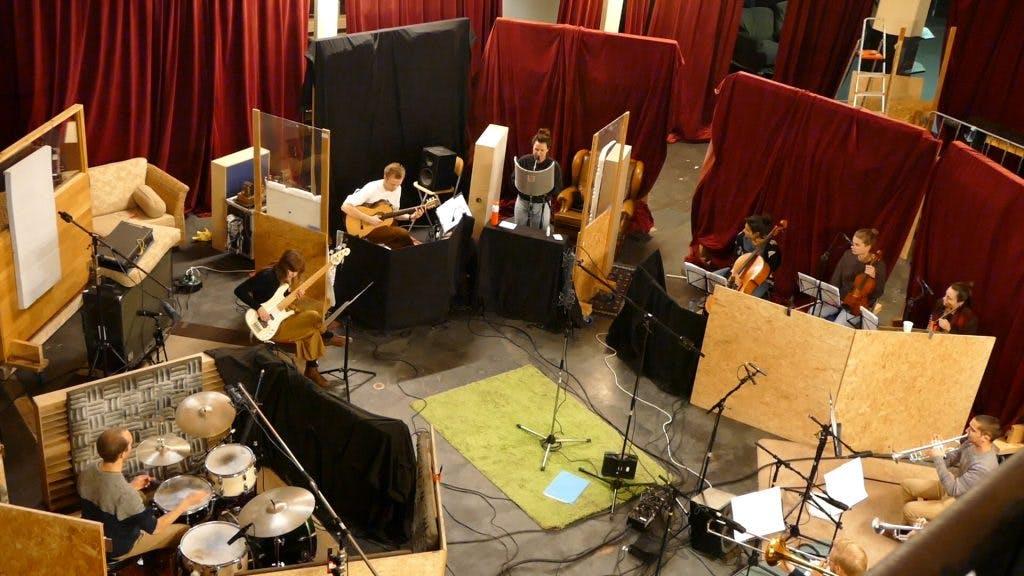 Rabo Next Stage: Opnames debuutalbum van muzikaal collectief INKT in Kytopia