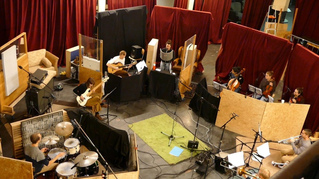 Rabo Next Stage: Opnames debuutalbum van muzikaal collectief INKT in Kytopia