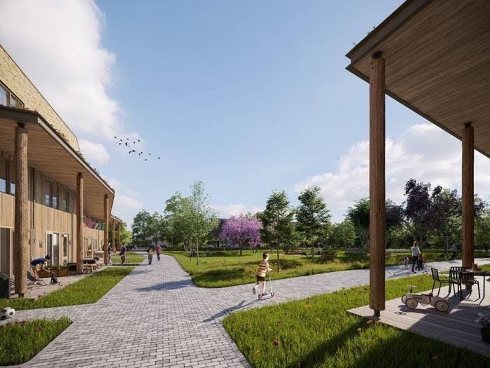 Aanleg het Van Lieflandpark met 20 woningen van start in Utrecht
