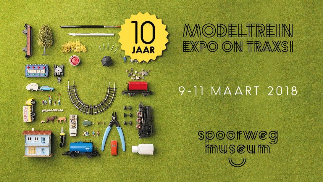 Modeltrein Expo On traXS! 9-10-11 maart 2018
