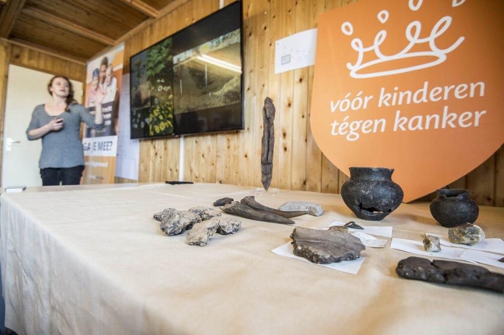 Lees alles over de archeologische vondsten die gedaan zijn bij het Prinses Maxima Centrum in Utrecht
