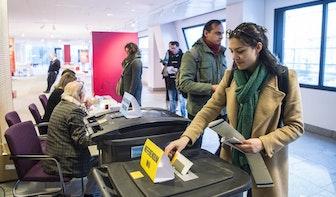 Foto's: Bijna 30.000 Utrechters hebben al gestemd