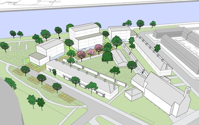 35 extra sociale huurwoningen door nieuwbouw aan de Johan Wagenaarkade in Oog in Al
