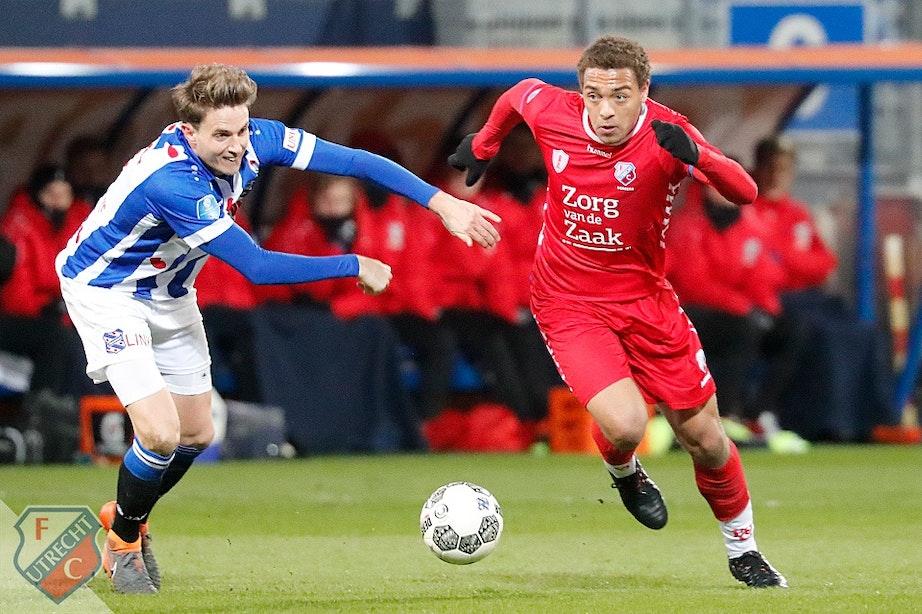 FC Utrecht pakt op karakter een punt in Heerenveen