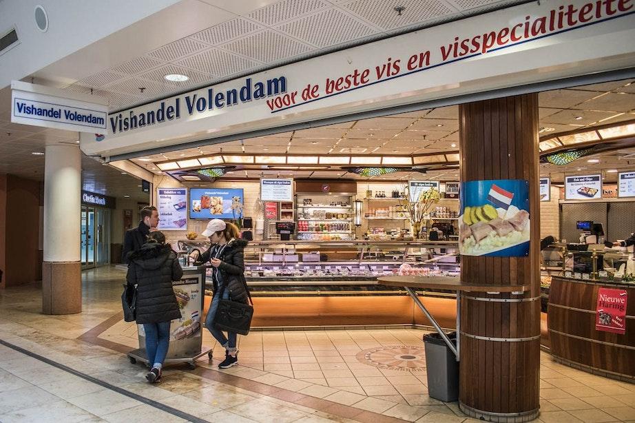 Vishandel Volendam wil terug naar winkelcentrum Hoog Catharijne