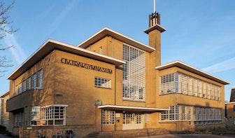 Voormalig Stedelijk Gymnasium: klassiek modern aan de Homeruslaan