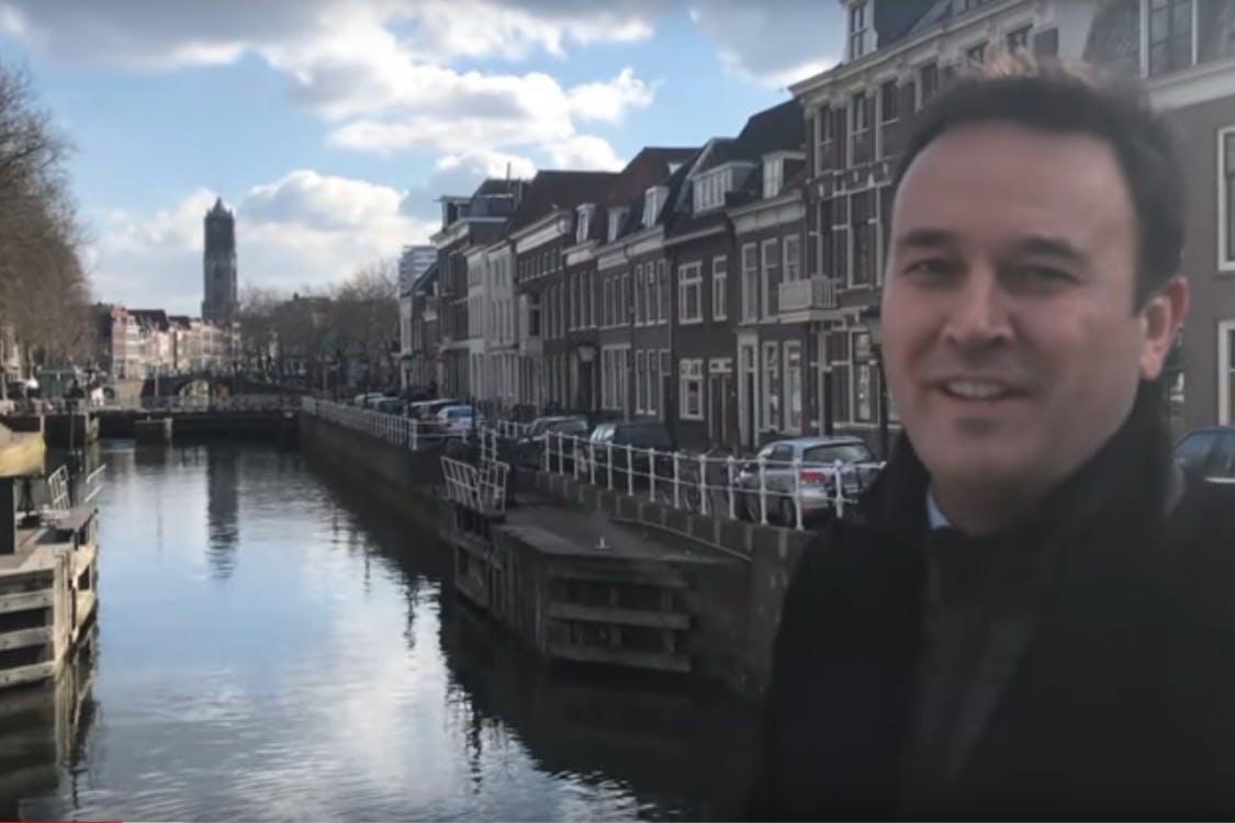 Verkiezingsvlog van de NOS neergestreken in Utrecht