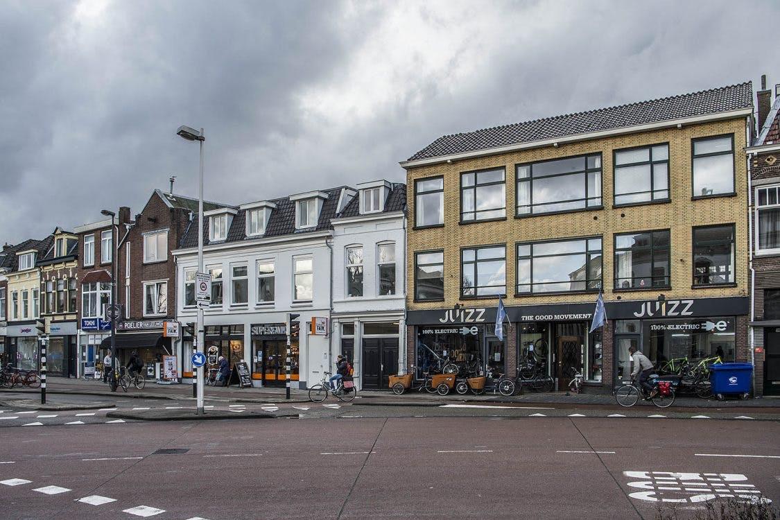 Plan voor grote supermarkt aan de Biltstraat in Utrecht: meerdere winkels moeten wijken
