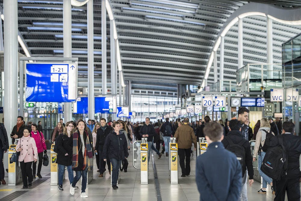 Utrecht Centraal nog steeds grootste station van Nederland: 3 procent groei