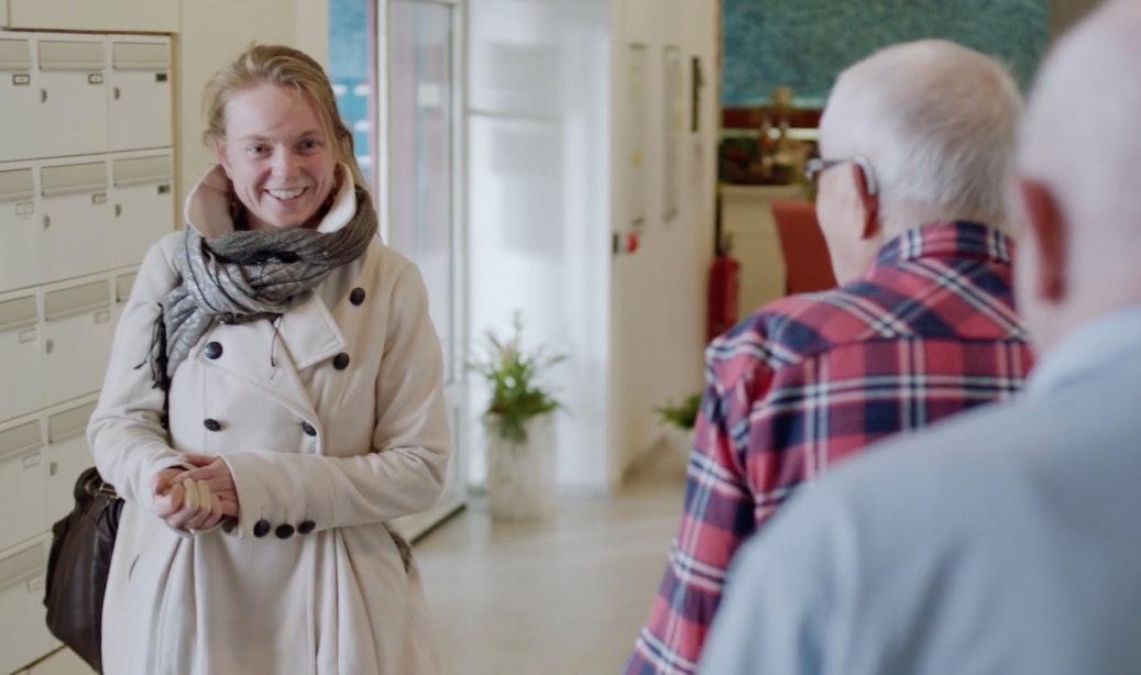 Utrechts verzorgingshuis waar jong en oud samenwonen in Human-documentaire dinsdagavond